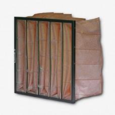 "20x24x15"" (492x592x380mm) 8 pocket 15"" Deep M5 (F5) Grade Synthetic Bag Filter"
