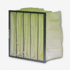 "20x20x15"" (492x492x380mm) 6 pocket 15"" deep F8 grade synthetic bag filter"