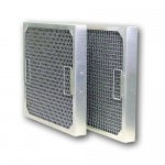 "10x20x1"" (241x495x22mm) Aluminium frame mesh grease filter"