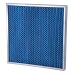 "20x16x1"" (496x396x25mm) G4 grade metal framed 1"" deep pleated panel filter"