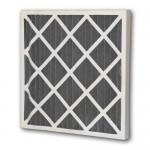 """10x10x2"""" (248x248x45mm) Carbon Pleat 2"""" deep pleated panel filter"""