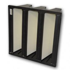 "24x20x12"" (592x492x292mm) F7 grade rigid bag filter, 25mm header"